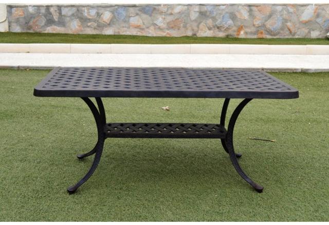 Almeria Cast Aluminium Coffee Table