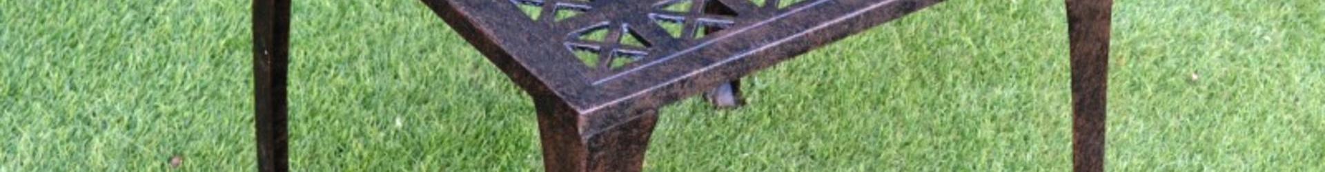 Almeria Cast Aluminium Side Table