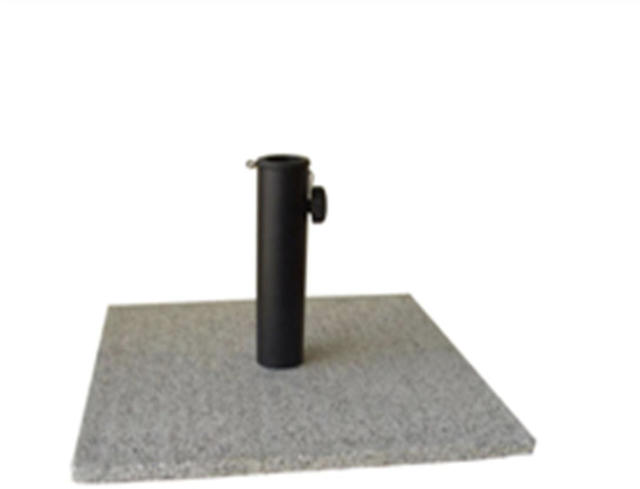 Square Granite Parasol Base - 15kg