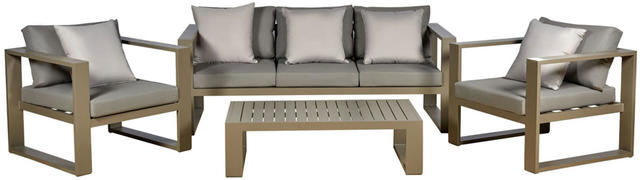 Florence 4 Piece Terrace Sofa Suite