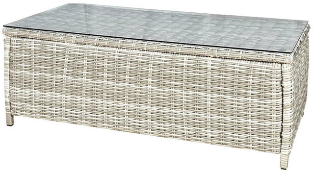 Rattan Oblong Coffee Table