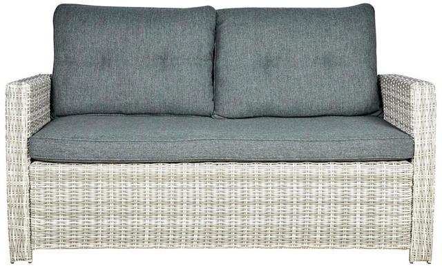 Rattan 2.5 Seater Sofa
