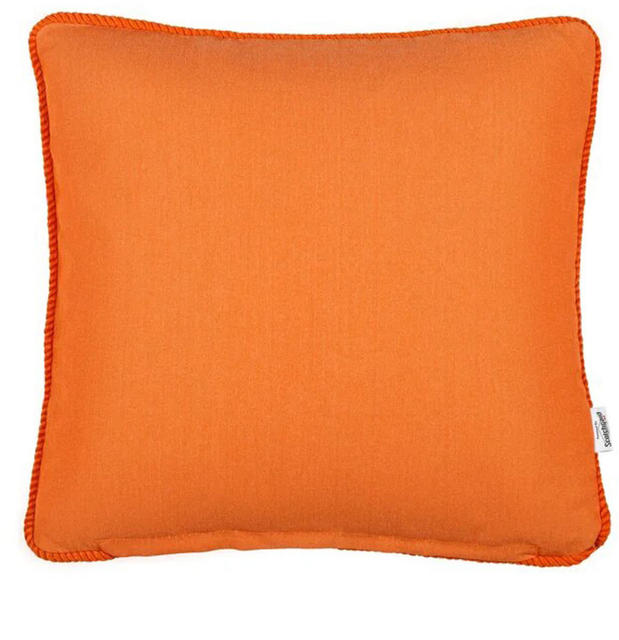Orange Block Colour Cushion Code 96587