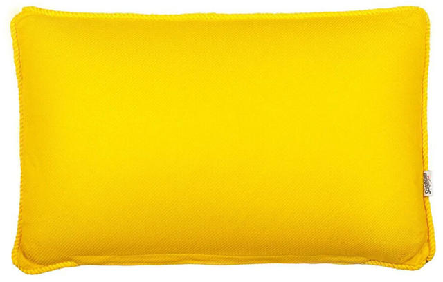 Yellow Block Colour Cushion Code 96586