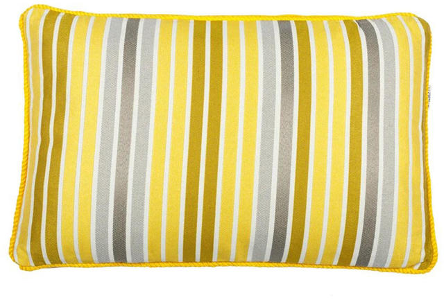 Yellow Striped Cushion Code 96586