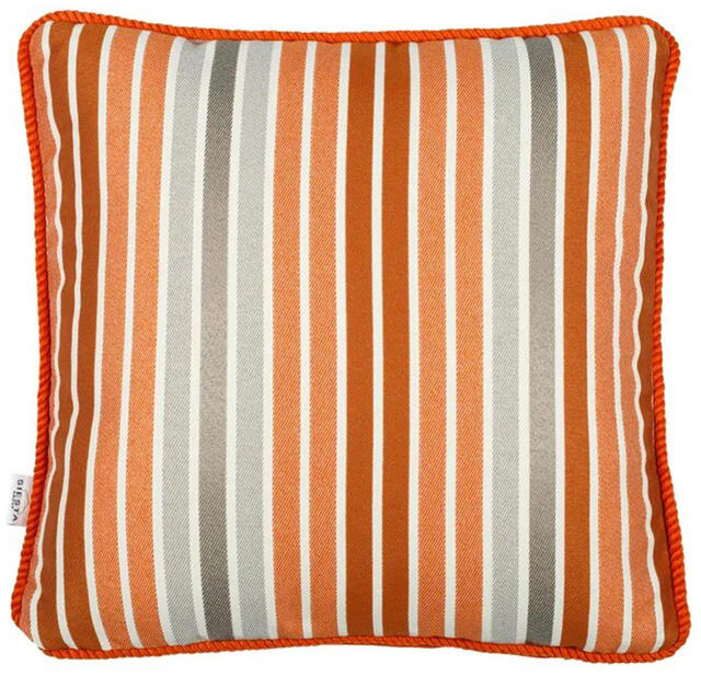 Orange Striped Cushion Code 96587