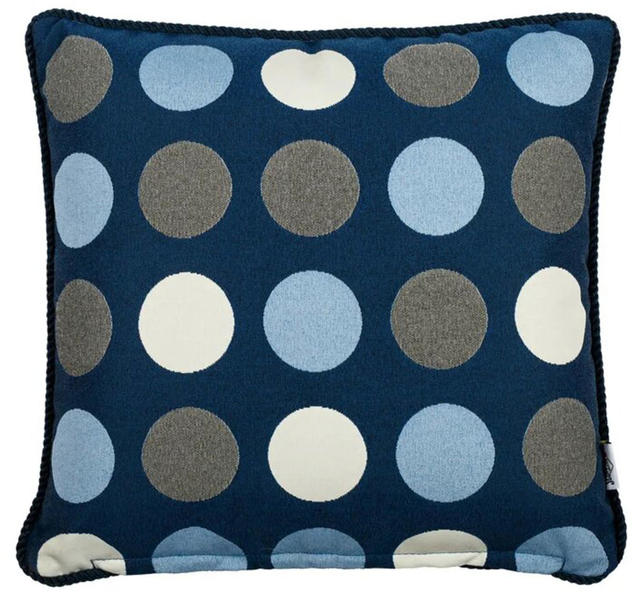 Blue Circles Cushion Code 96591