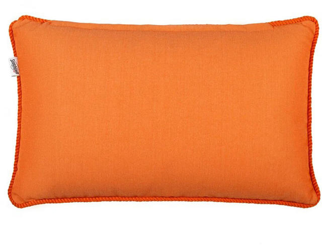 Orange Block Colour Cushion Code 96588