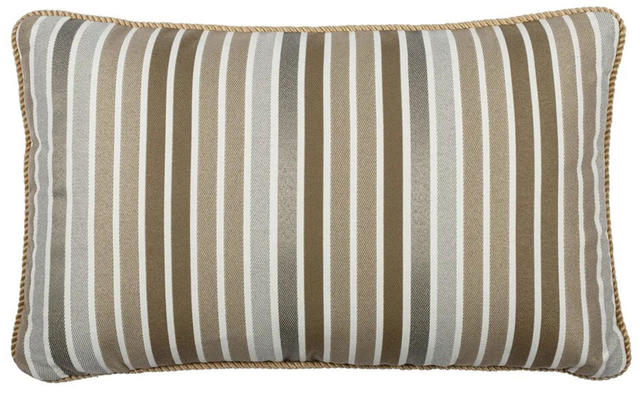 Beige Striped Cushion Code 96589