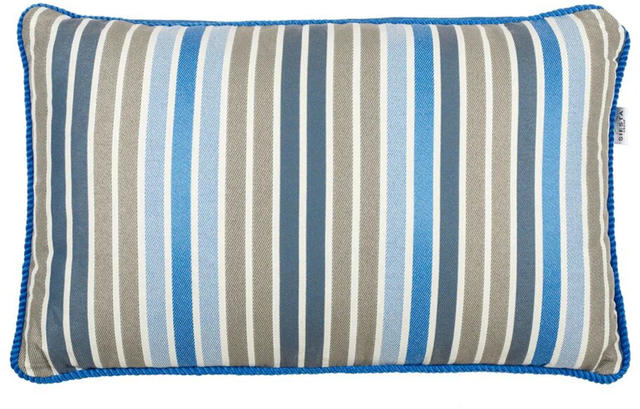 Blue Striped Cushion Code 96584