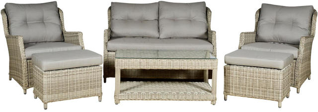 Granada  6 Piece Sofa Set