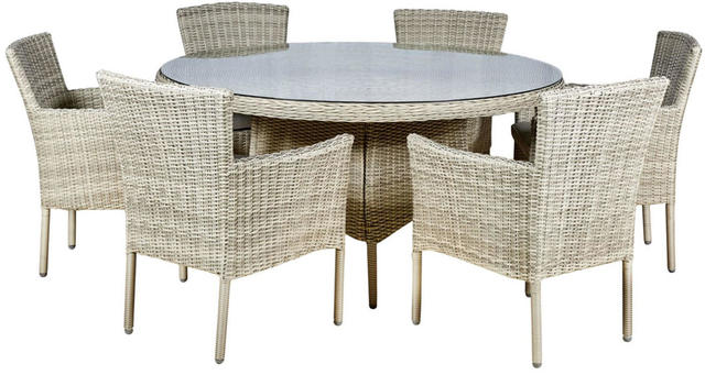 Granada Round 6 Seater Dining Set