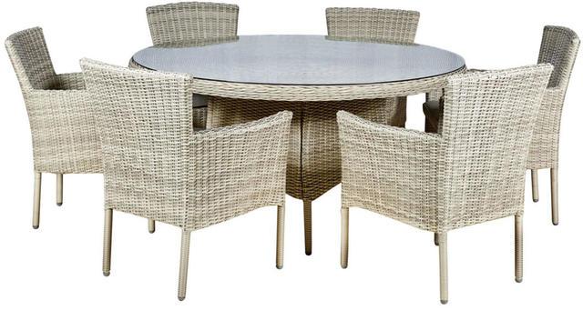 Granada Round 6 Seater Dining Set