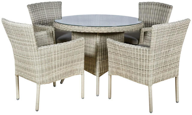 Granada Round 4 Seater Dining Set