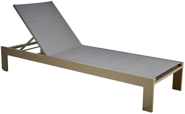 Florence padded Sunlounger