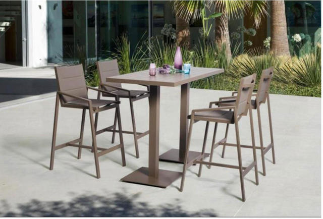 Florence Oblong 4 Seater Bar Set