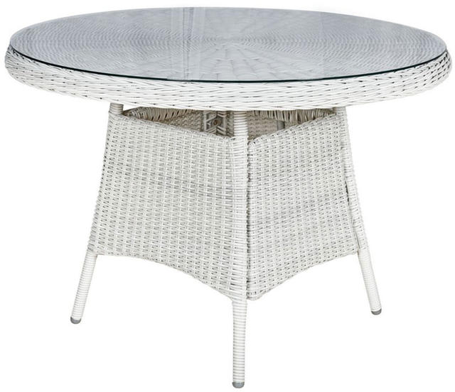 Malaga Round 110cm Dining Table
