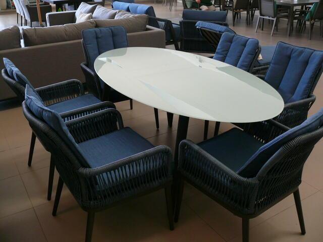 Adra 6 Seater Dining Set