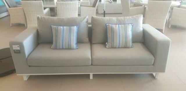 EGO Grey and White 2 Seater