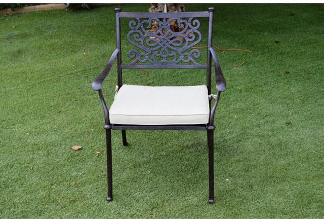 Almeria The Almeria Aluminium Dining Chair