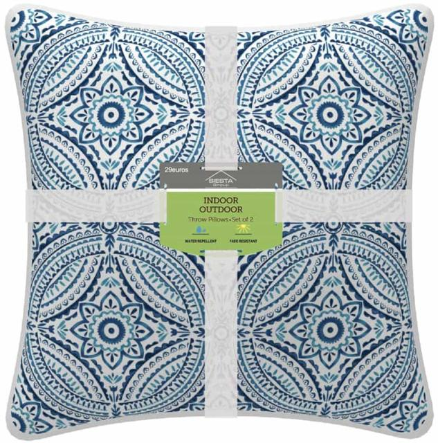 Pair of Blue Symetrical